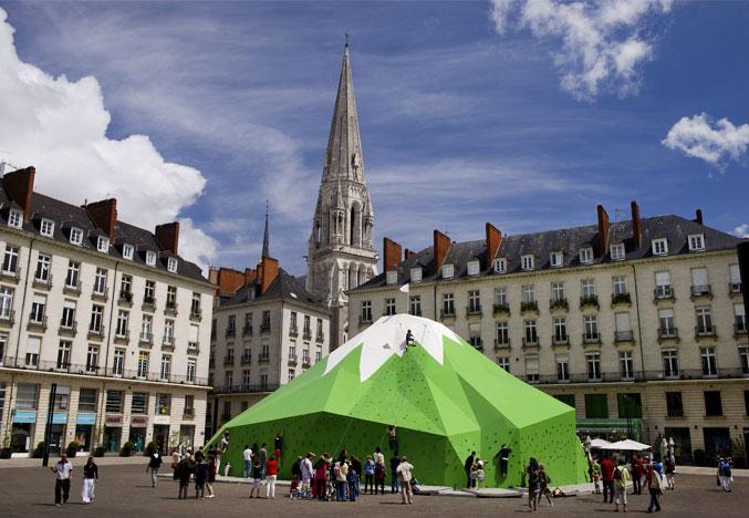 Nantes Mont Royal place Royale