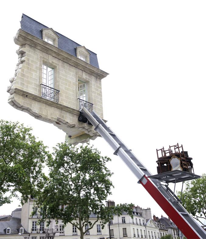 Nantes ultime déménagement place Bouffay