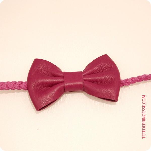 headband serre tête bandeau nœud
