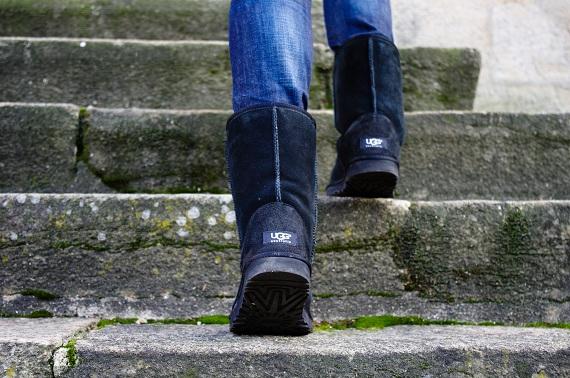 bottes boots UGG noires