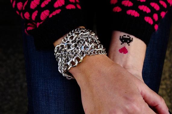 bracelet H&M tatoos Bernard Forever