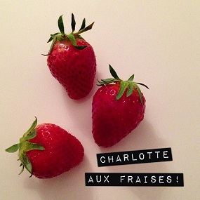 photo Instagram Charlotte aux fraises