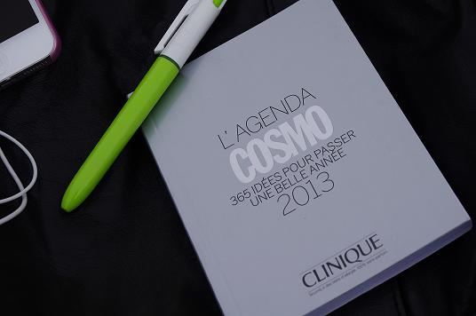 agenda 2013 Cosmo Clinique