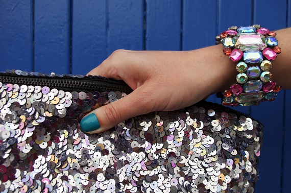 bracelet H&M vernis Ciaté bleu