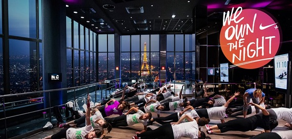 Nike évènement running Paris