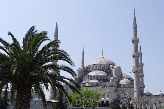 Sultanahmet Camii Mosque bleue Istanbul