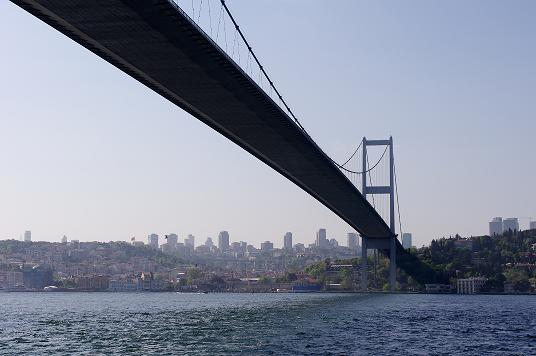 pont du Bosphore Istanbul Turquie