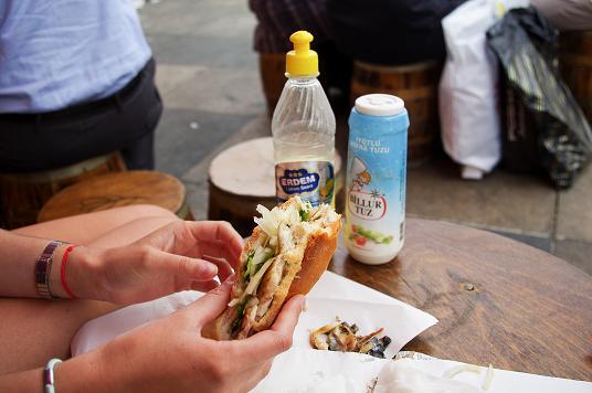 bons plans sandwich poisson Istanbul