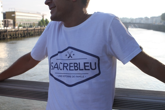 t-shirt Sacrebleu Clothing homme