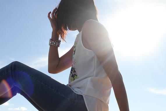 photographe blog mode rooftop soleil
