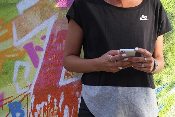 t-shirt Nike bagues H&M Balenciaga