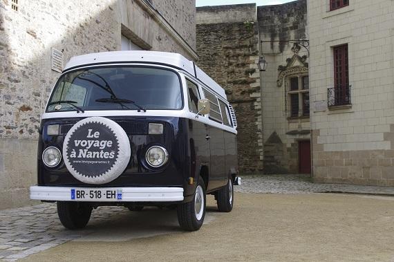 combi Volkswagen Le voyages à Nantes