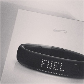 test Nike Fuel Band running