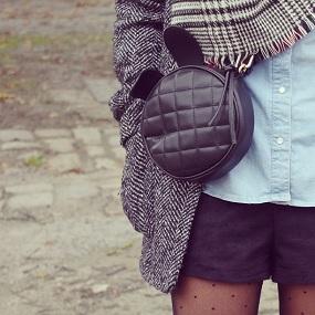 sac lapin noir Persun Mall