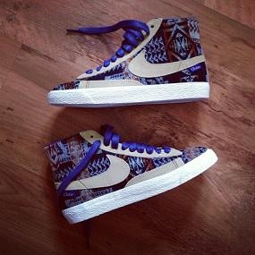 sneakers blazers Nike Pendleton iD