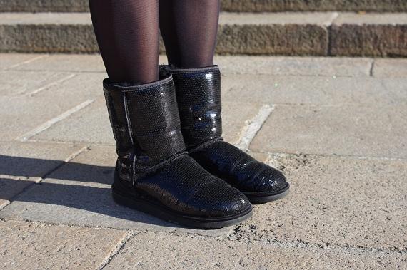 bottes boots UGG sequins paillettes