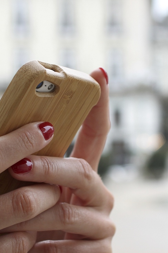 coque iPhone bamboo Master Case