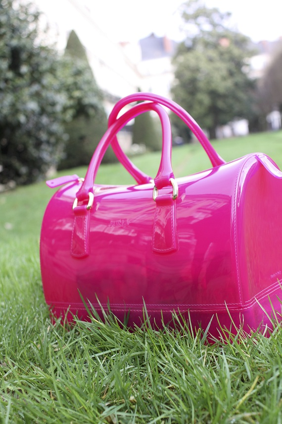 sac Candy Bag Furla rose