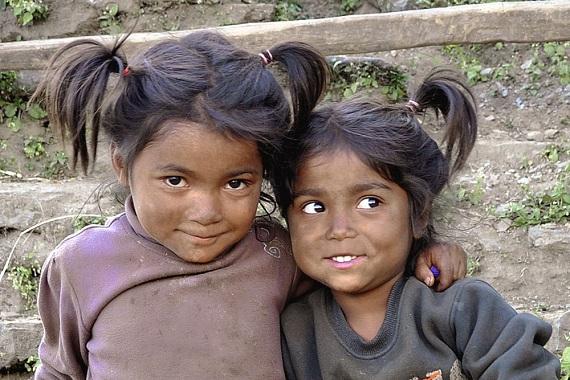 voyage projet humanitaire Népal enfants