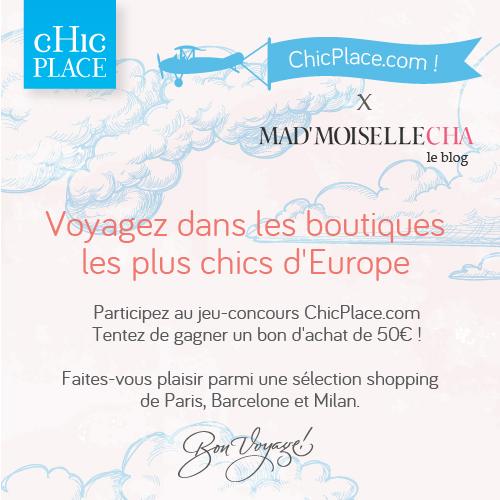 concours Chic Place boutique créateurs