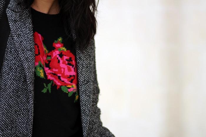 pull British fleurs Primark