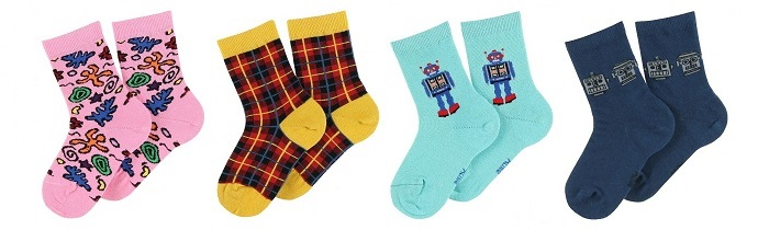 chaussettes fantaisies françaises enfant Achile