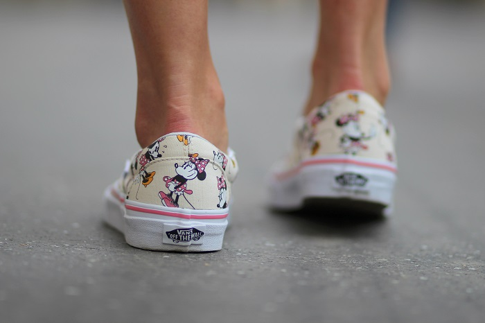 baskets slippers Disney VANS Minnie