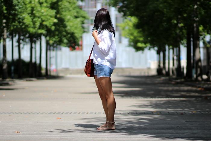 blouse chemise blanche AIGLE