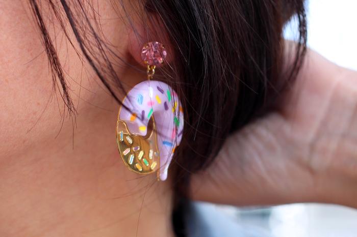 boucles d'oreilles donuts N2 Les Néréides