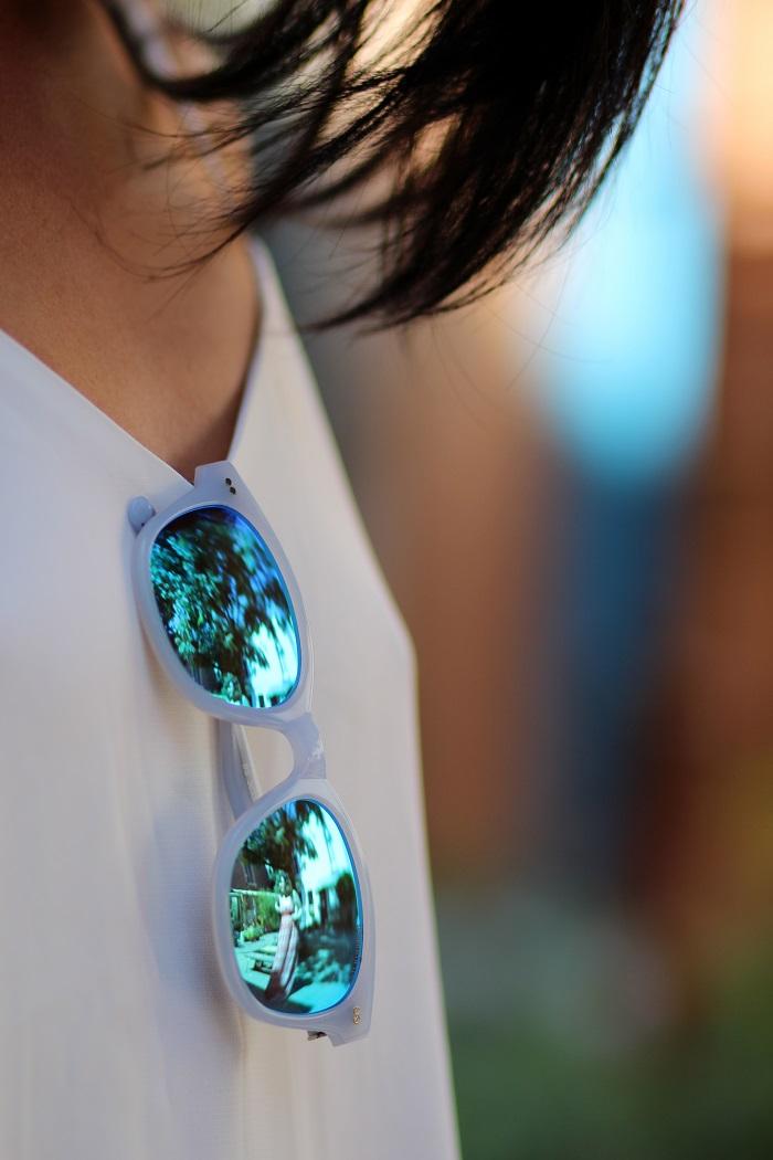 lunettes soleil Bensimon verres miroir