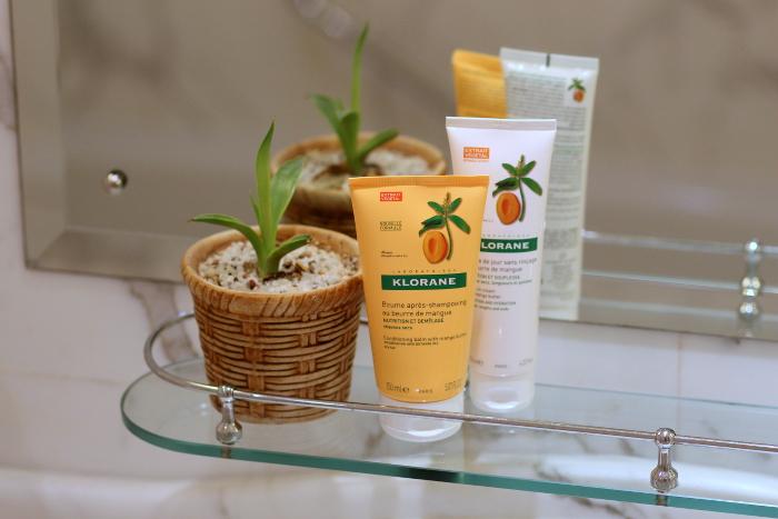 soins masque crème cheveux Klorane