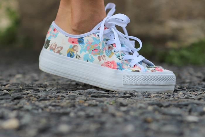 baskets sneakers fleuries Follow Me Gémo