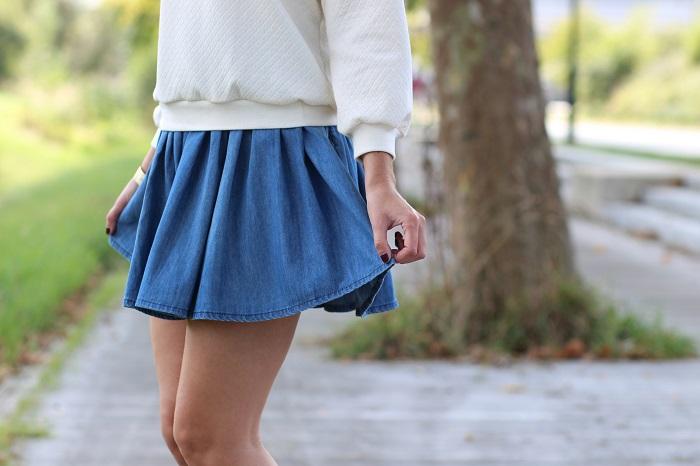 jupe jean H&M
