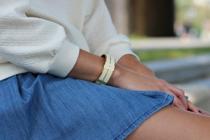 bracelet manchette jonc Bangle Up