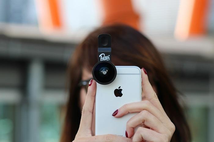objectifs photos smartphones Pixter