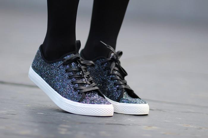baskets tennis sneakers paillettes Kiabi
