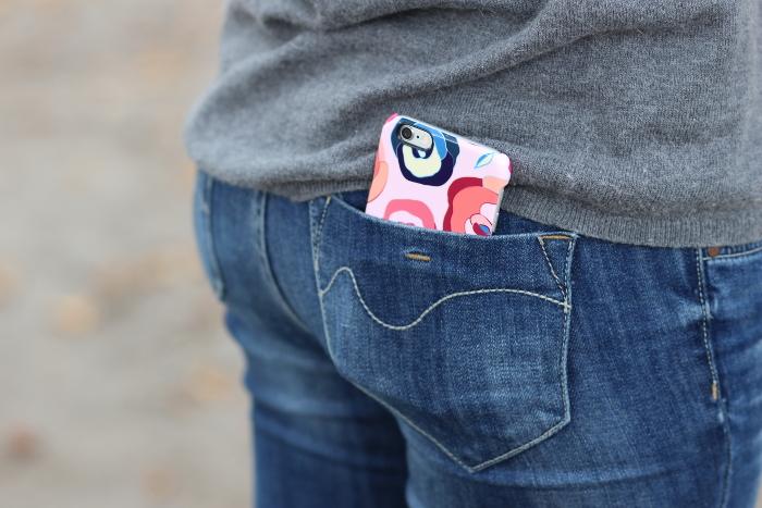 coque iPhone 5 6 fleurs