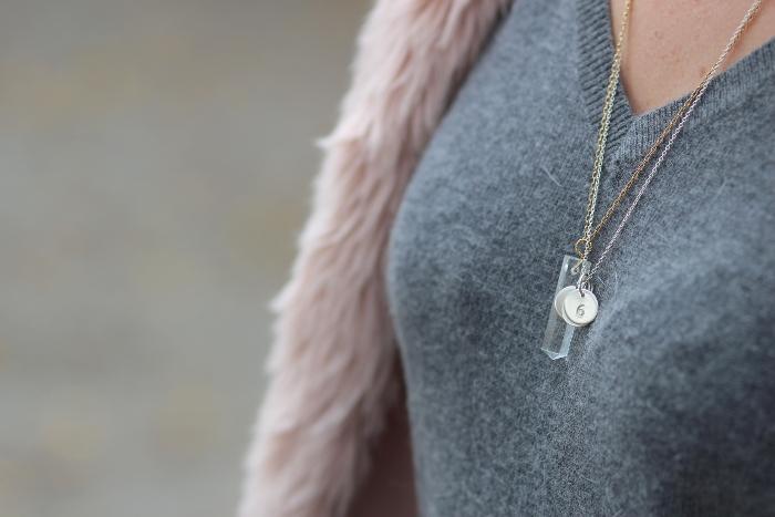collier sautoir pierre Juste Juliette