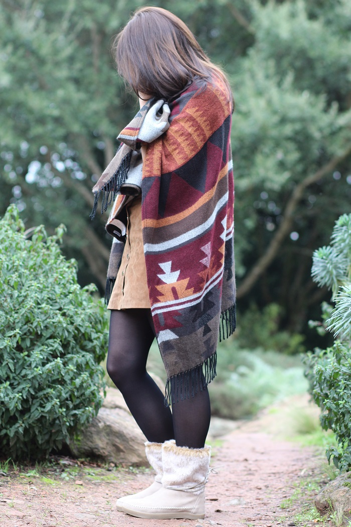 poncho ethnique Pimkie