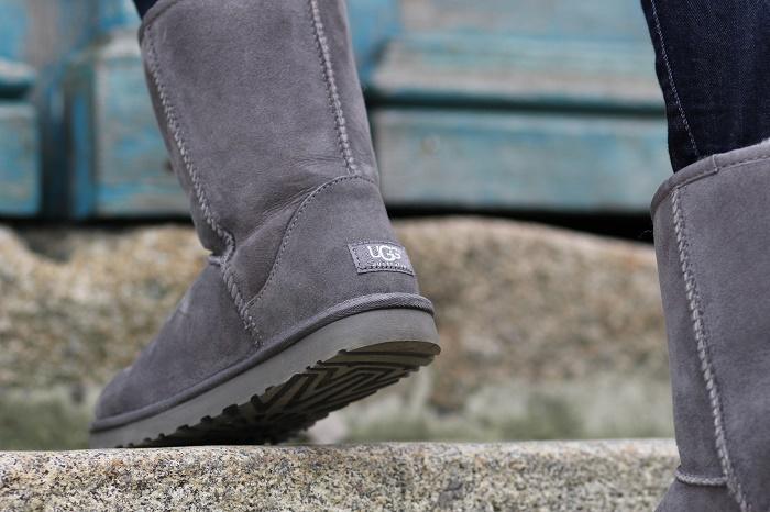 bottes boots UGG Australia grises