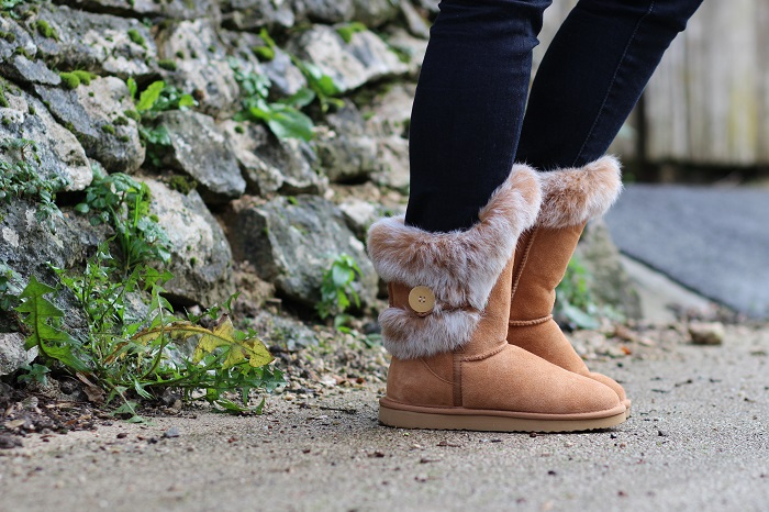 bottes boots fausse fourrure Modress