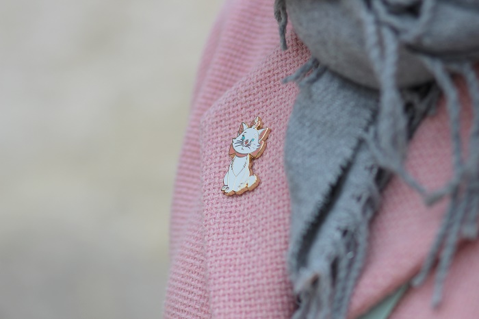 pin's Disney Les Aristochats Marie