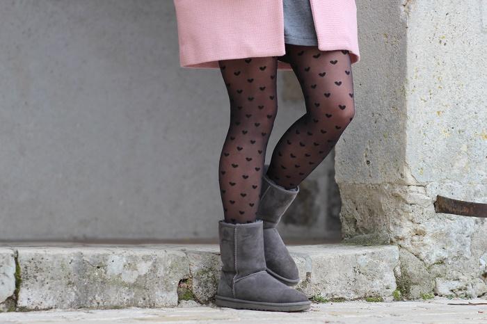 bottes boots UGG grises