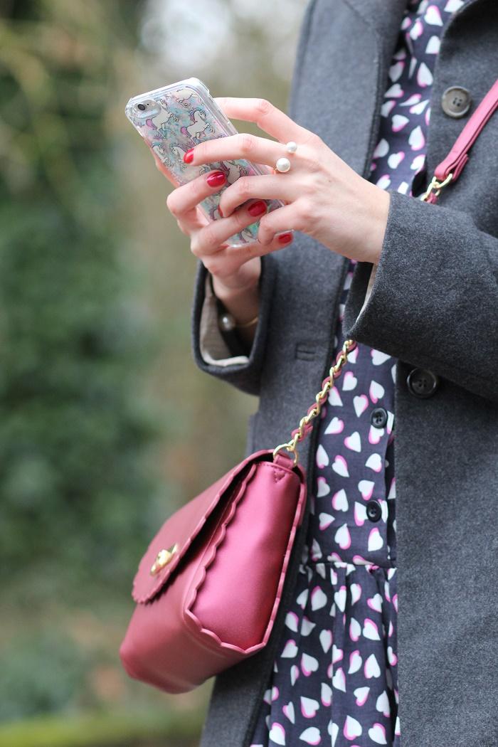 coque iPhone 6 poneys licornes paillettes