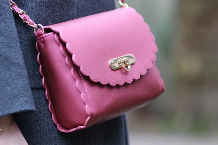 petit sac rose bandoulière ASOS
