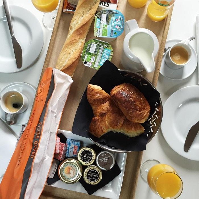 petit déjeuner Résidence de NELL Paris