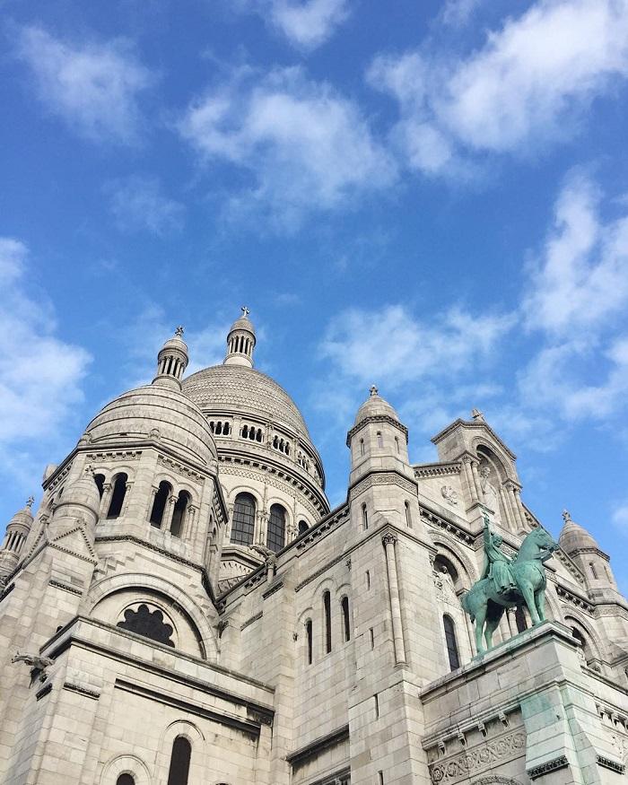 Sacré-Coeur butte Montmartre Paris