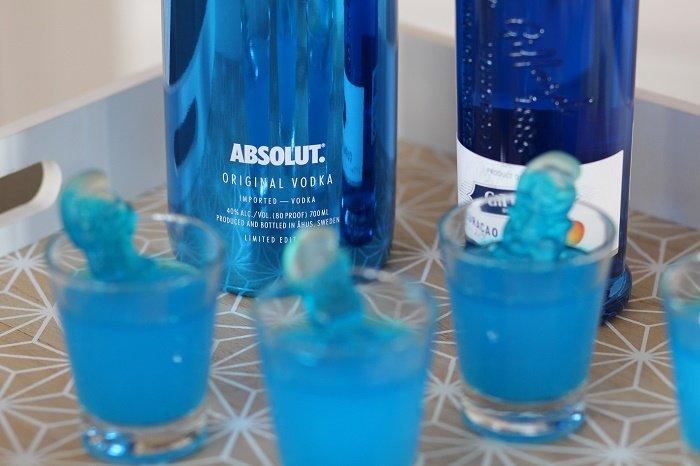 idée cocktail vodka Electrik Jello