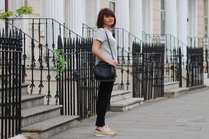 blog mode look casual marinière