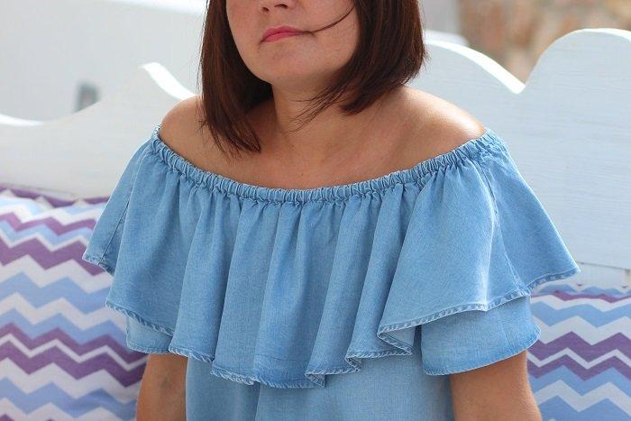 robe jean Zara